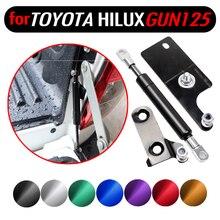 Toyota Hilux için GUN125 126 Revo 2015 2019 pikap aksesuarları paslanmaz arka bagaj kapağı yavaş yavaş gaz yardım destekleri damper