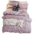 Сатиновое постельное белье  пододеяльник  простыня  подушка  пододеяльник  двойной