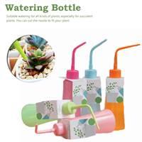 250 ml squeeze garrafa de jardinagem do agregado familiar acessório suculentas garrafas de rega flor planta pote água pode dobrar a boca