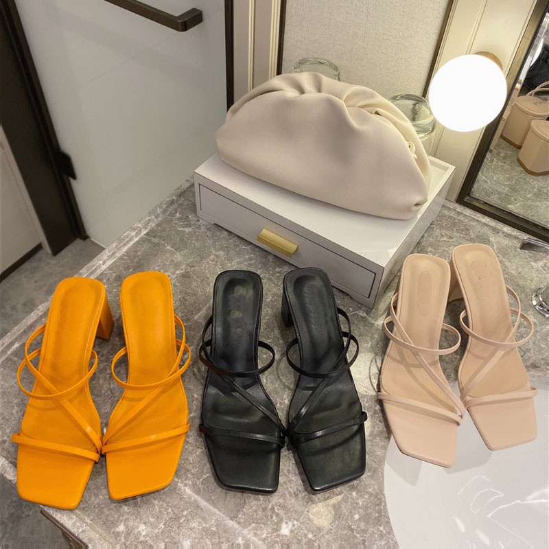2020 Woman Summer Pumps New Sexy Gladiator Sandals Shoes Women Thin High Heels Sandal Lady Ankle Strap Pump Shoes Plus Size