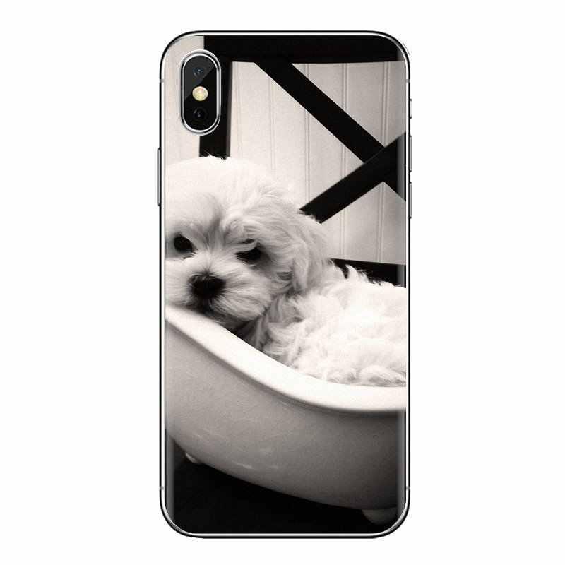 עבור Huawei P חכם Y6 P8 P9 P10 בתוספת נובה P20 לייט פרו מיני 2017 SLA-L02 SLA-L22 2i סיליקון מקרי מכסה ביישון frise כלב גור