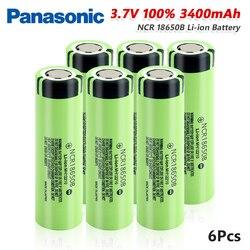 Panasonic 1/2/4/6/8/10x NCR18650B Lithium Battery Rechargeable 20A 3400mAh NCR 18650 Li-ion Pilas Bateria For Radio Microphone