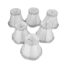 Art Deco Lamp Shades Crystal Wall Lamp Chandelier Fabric Lampshade Nordic Style Modern Lamp Cover for Home Decoration 6 Pcs Set( low price modern nordic fabric home lobby wooden sofa set design for space saving apartment japan style