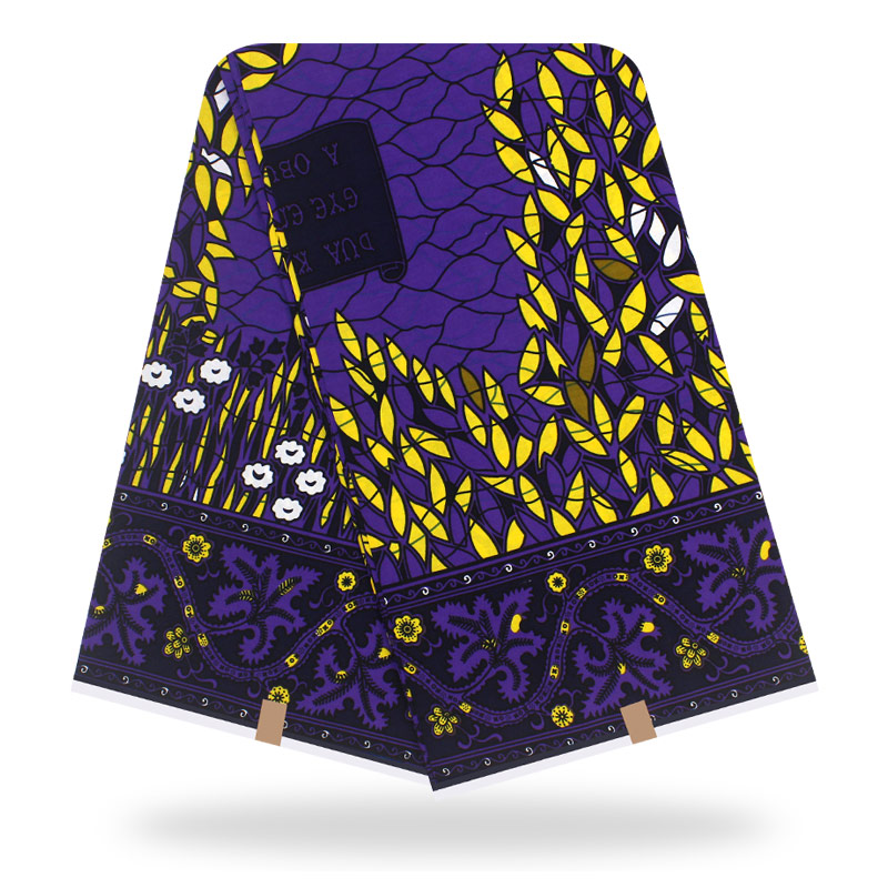 2020 Dashikiage Fashion New Arrival Nederlands Veritable Wax Fabric Wonderful Print 100% Cotton Batik Fabric For African Dresses