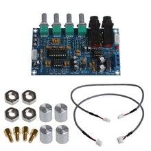 Free postage Dual Power Microphone Amplifier Board Sound AMP Module Digital Reverb Plate цена 2017