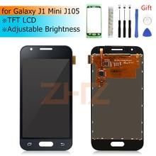 Do Samsung GALAXY J1 Mini wyświetlacz LCD J105 ekran dotykowy Digitizer zgromadzenie j1 mini wyświetlacz wymiana części naprawa