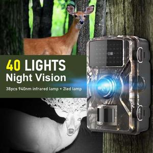 Mini Trail Camera Hunting Game 12MP 1080 P Outdoor Scouting Camera 38PCS 940nm LEDs IP66 Waterproof Hunting Camera