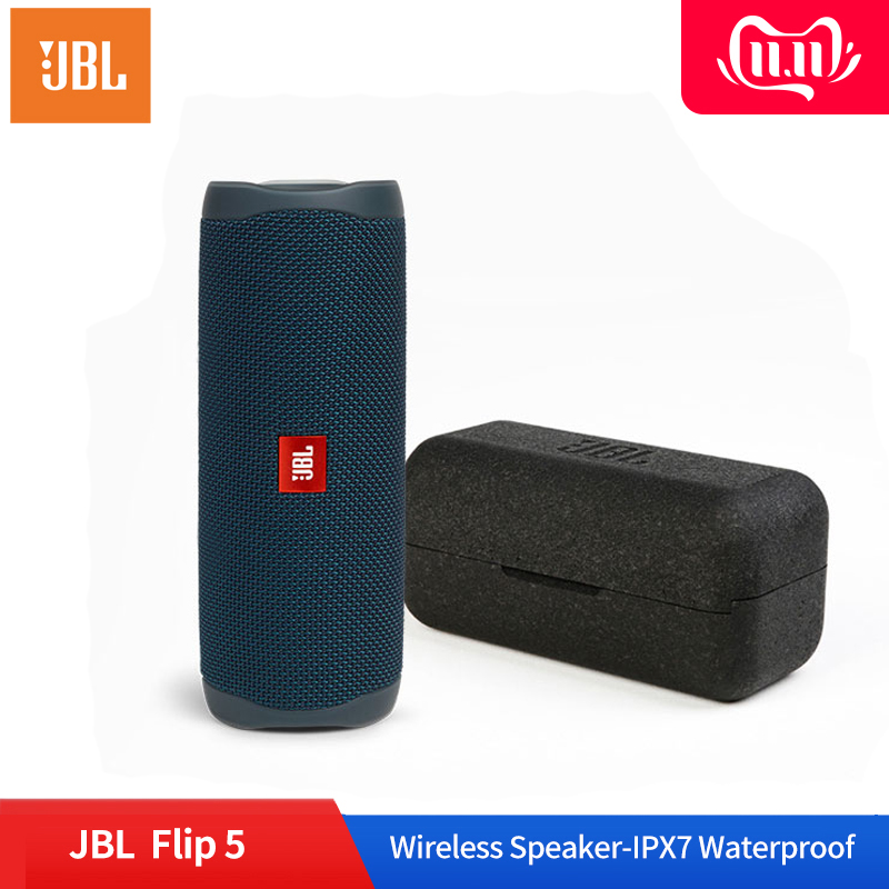 <font><b>JBL</b></font> Flip 5 Portable Bluetooth <font><b>Speaker</b></font> IPX7 Waterproof Wireless loudspeaker Stereo Music Kaleidoscope Audio Pairing USB <font><b>Charging</b></font> image