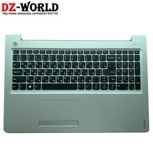 Palmrest Silber Ober Fall Mit RU Russische Tastatur Touchpad für Lenovo Ideapad 310-15IAP 310-15IKB Laptop C Abdeckung 5CB0M29117