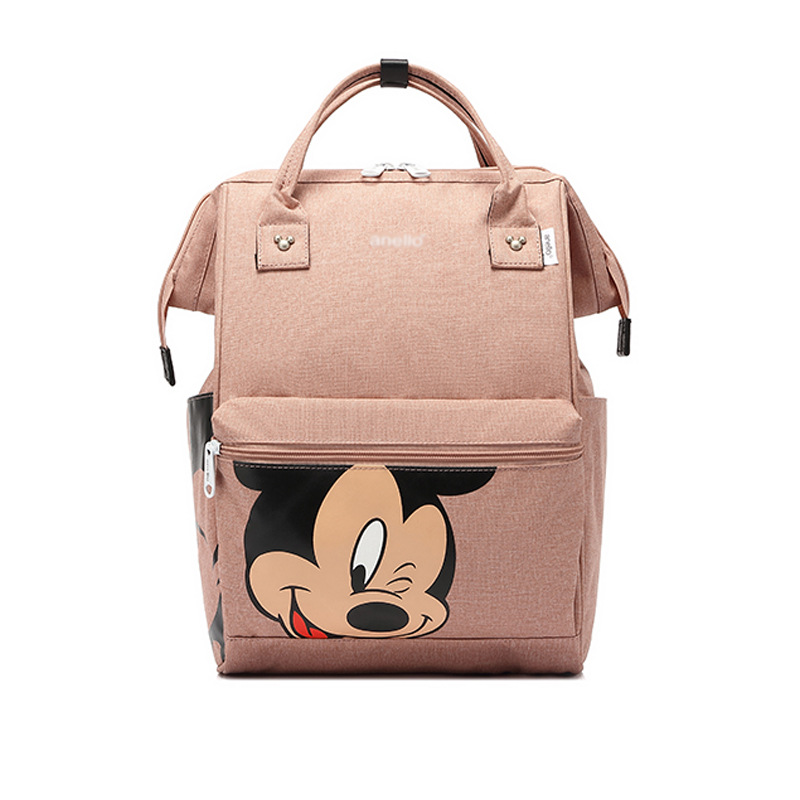 New Disney Mummy Diaper Bag Maternity Nappy Nursing Bag For Baby Care Travel Backpack Designer Disney Mickey Minnie Bags Handbag