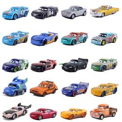 Disney Pixar Cars 3 Lightning McQueen Mater Jackson Storm Ramirez 1:55 Diecast Vehicle Blue No.42 Toys Car Combination Boys Gift