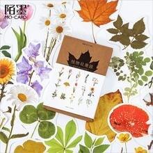 30 шт/упак бумажная открытка серия цветов для путешествий Подарочная