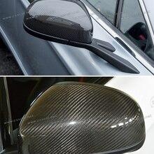 Fit 308 T7//207 Chrome Wing Mirror Cover Caps 2 Pezzi Acciaio Inox