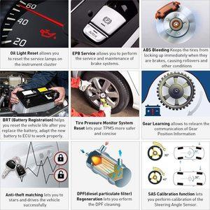 Image 5 - Starten X431 PROFIS Mini Automotive OBD2 Scanner Diagnose Werkzeug IMMO Injektor ECU Codierung TPMS ABS Blutungen Wifi Bluetooth Scanner
