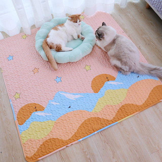 Durable Plush Comfortable Pet Mat For Cats & Dogs  3