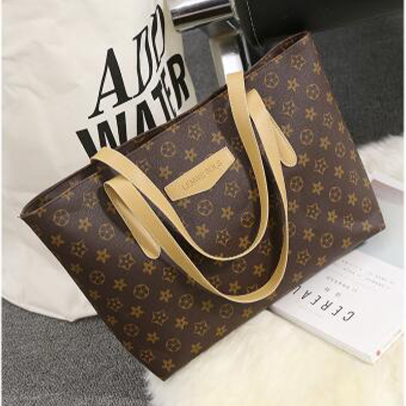 2020 New Women's Bag One Shoulder High Capacity Bag Fashion Handbag Versatile Tote Bag Versatile Tote Bag Beach Bag Girl