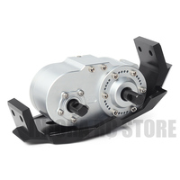 Metal Gearbox Transfer Case with 72mm Mount for 1:10 RC Rock Crawler Axial SCX10 D90 D110 TF2