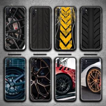 Sports car wheel Phone Case For Samsung Galaxy Note20 ultra 7 8 9 10 Plus lite J7 J8 Plus 2018 Prime image