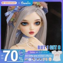 Бесплатная доставка, Волшебная страна, Minifee, Хлоя, BJD, MSD кукла, 1/4 полная опция, модные милые куклы, фигурки из смолы, игрушки, подарок для глаз