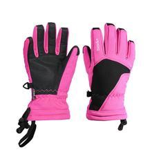 От 6 до 12 лет детский спортивный больше не нужно снимать перчатки для Сноубординг Лыжный Спорт Перчатки Зимние флисовые Термальность перчатки потепления утепленные детские перчатки