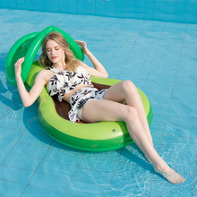 Floating-Row Lounge-Chair Summer Swimming-Float Water-Party-Toy Inflatable Flamingo Adult