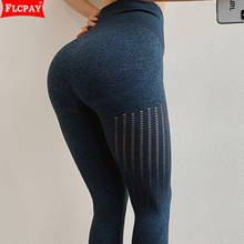 Pants Leggings Tummy-Control Running-Tights Non-See-Through Stretch-Workout Yoga-Power