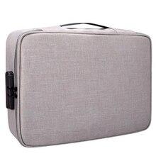 Водонепроницаемая сумка Органайзер для документов, сумка для хранения документов, Сумка для документов, сумка для хранения документов, карман для хранения документов с отделением