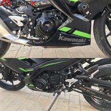 Für KAWASAKI NINJA 400 Z 400 NINJA400 Z400 2018 2020 Motorrad Zubehör Crash Pad Stator Fall Protector Schutz
