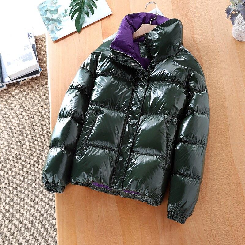 90% White Duck Down Jacket Women Down Coat Winter Coat Women Korean Short Puffer Jacket Warm Parka Casaco 65527 YY1439