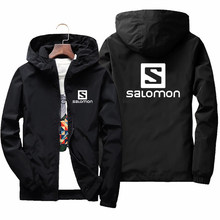 Men's Bomber Jacket Spring Autumn Windbreaker Coats Mens Casual Solid Thin Jacket Male Brand Outerwear Clothing 7XL