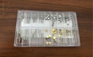 Image 2 - Assortiment Van 170 Stuks Rvs Waterdichte Crown Set En Horloge Steel Set Voor Horloge Reparatie