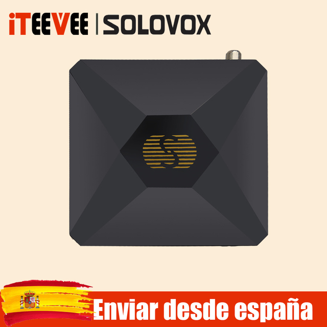 SOLOVOX S V6S לווין טלוויזיה מקלט קולנוע ביתי HD תמיכה M3U CCAM טלוויזיה Xtream לווין מקלט USB WIFI אפשרות ספרד
