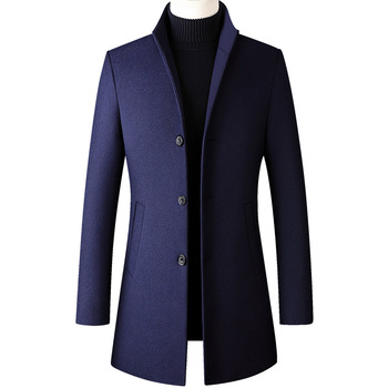 Men's Casual Stand-Collar Coats