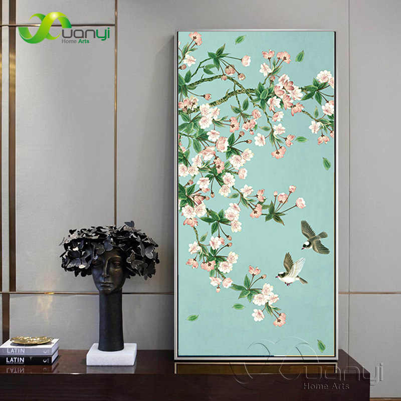 Modern Flower Canvas Painting Poster And Prints On Canvas Wall Pictures Home Cuadros Decorartion Art For Living Room Unframed