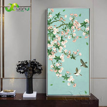 Modern Flower Canvas Painting Poster And Prints On Canvas Wall Pictures Home Cuadros Decorartion Art For Living Room Unframed(China)