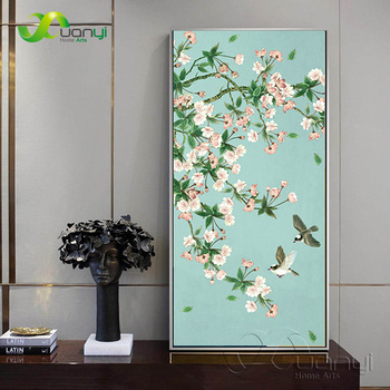 Modern Flower Canvas Painting Poster And Prints On Canvas Wall Pictures Home Cuadros Decorartion Art For Living Room Unframed image