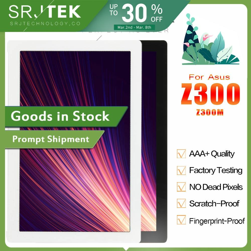 SRJTEK LCD Display NV101WUM-N52 Touch Screen Digitizer Assembly For ASUS ZenPad 10 Z301M Z301ML Z301MFL P028 P00L Z300M P00C