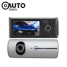 Car DVR Full HD 1080P Dual Lens Rear View Dash Cam Vehicle Camera Monitor Video