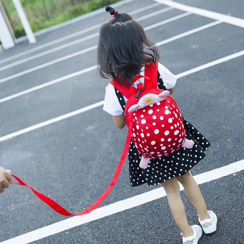 New Style CHILDREN'S School Bags Baby Nursery Cartoon Cute Korean-style Anti Lost Backpack 1-3 Years Old Baby Backpack