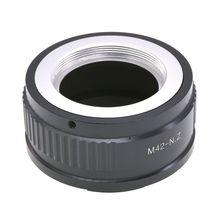 M42 Screw Lens to for Nikon Z Mount Adapter Ring Z6 Z7 Camera Kit