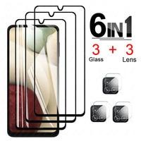 Auf Für Samsung Galaxy A12 Kamera Objektiv Film display-schutzfolien Schutz Glas für samsung a 12 SM-A125F/DSN A125 gehärtetem Glas