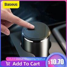 Baseus Legering Auto Prullenbak Auto Organizer Opbergtas Auto Vuilnisbak Asbak Dust Case Houder Auto accessoires