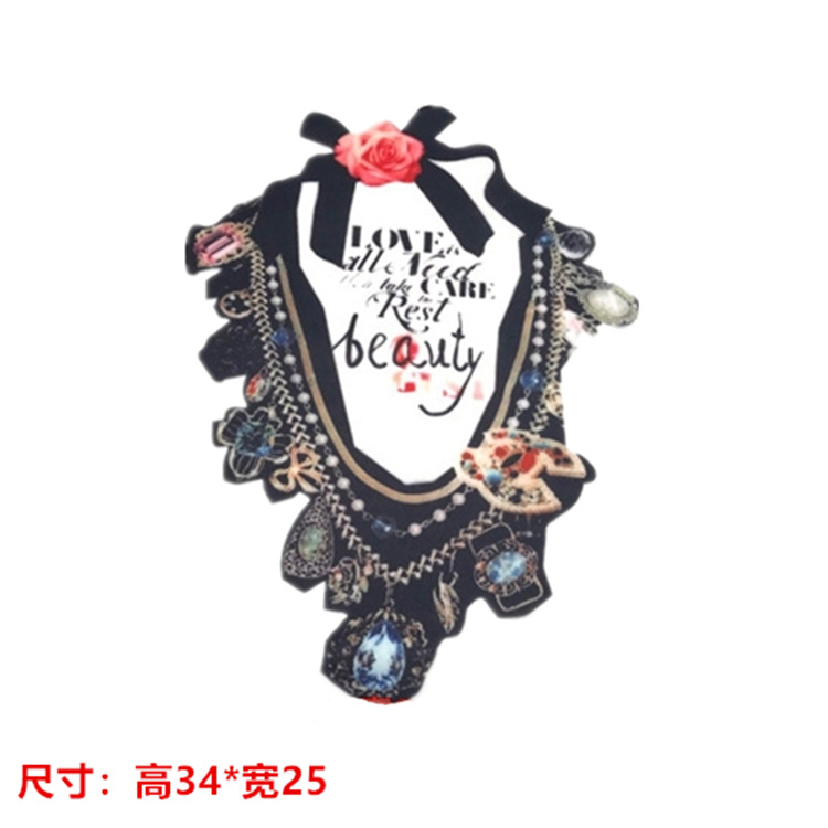 Pop-up Clothing Accessories Necklace DIY Accessories/Daily