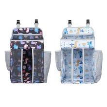 Crib-Organizer Diaper-Bags Hanging-Bag Bedding-Set Storage Essentials Baby for Infant