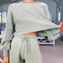 2020 New Trendy Women Chic Suits Two Pieces Sets Loungewear Long Sleeve