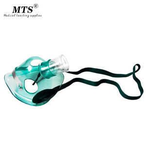 Image 1 - 10pcs Disposable Medical  Oxygen Mask for children Tubing Device Home Use Oxygen Concentrator Nebulizer Inhaler Conduit