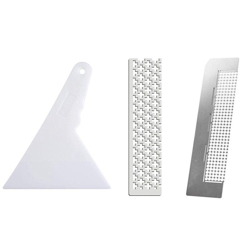 2Pcs 5D Diamond Painting Ruler Tool and 1Pc Diamond Painting Fix Tools DIY Diamond Painting Ruler for Diamond Painting