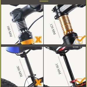 Image 4 - ウルフの牙自転車マウンテンバイク 21 スピード脂肪道路の雪バイク 20*4.0 フロントとリア機械式ディスクブレーキ新送料無料