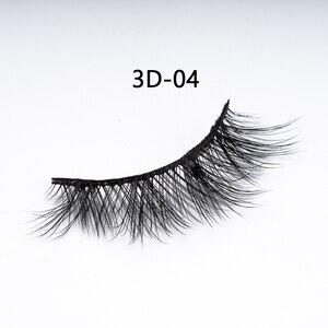Image 5 - DORADOSUN 5 Paar Voller Streifen Wimpern Für Party Faux Nerz Natürliche Wimpern Für Schönheit Salon Weichen 3D