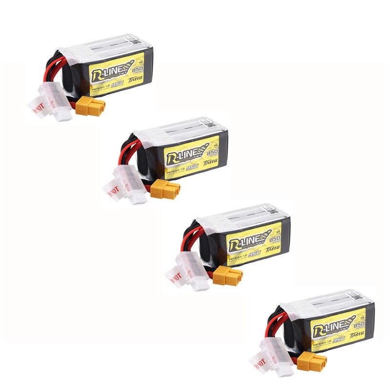 1/2/4 Uds. Tattu r-line V1.0 14,8 V 850mAh 95C 4S1P XT60 Plug Lipo batería para RC Drone FPV Racing partes de Multirotor Accesorios ISDT Q8 MAX 1000W 30A / Q8 500W 20A 2-8S / Q6 Nano 200W 8A 1-6S cargador de equilibrio de batería para Lilon LiPo LiHV NiMH Pb RC modelos